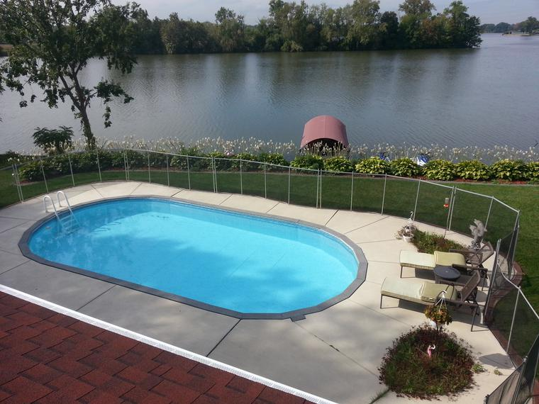 Above ground pool wayne mi in ground pools wayne mi for Swimming pool financing