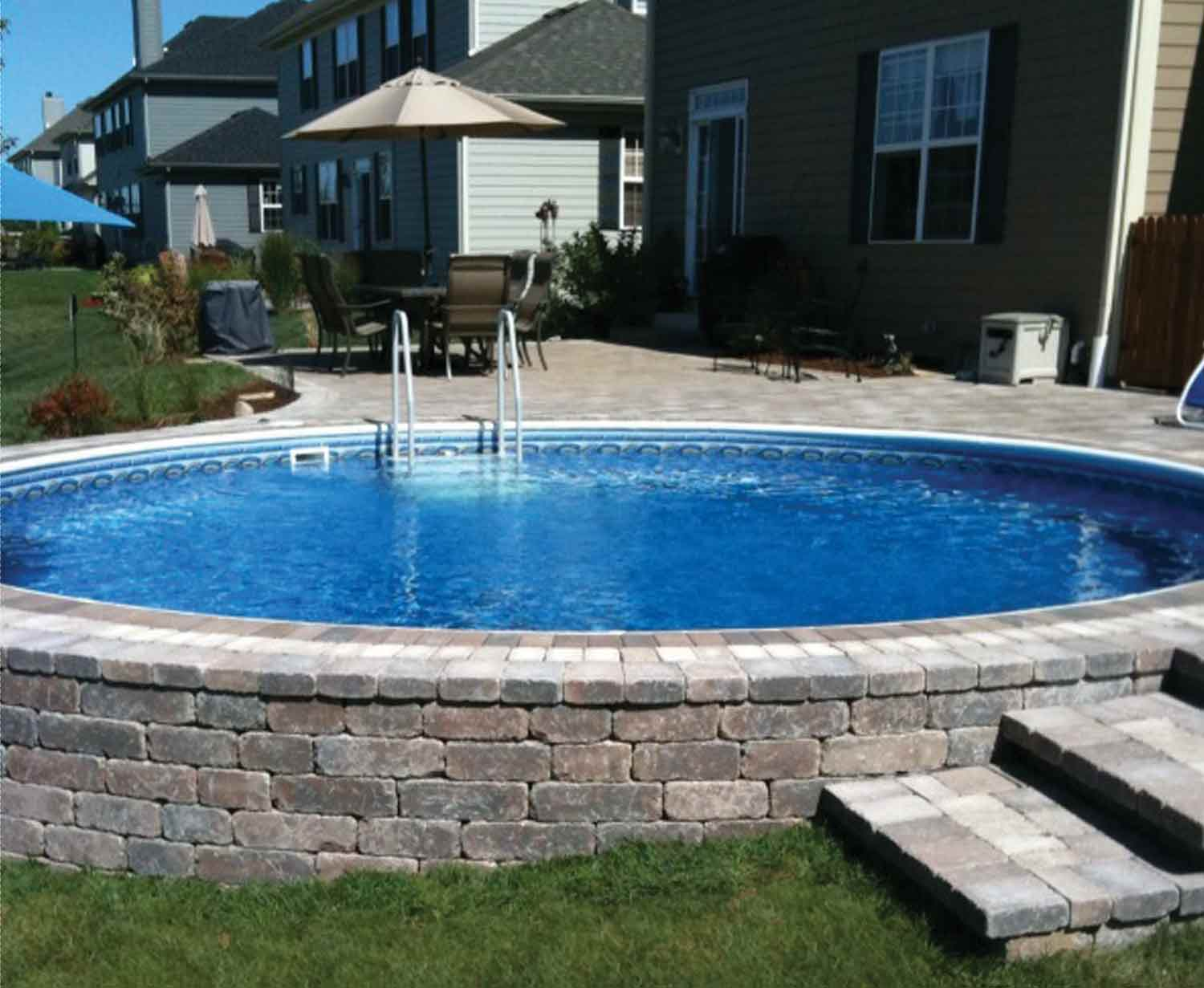 Above ground pool wayne mi in ground pools wayne mi - Largest above ground swimming pool ...